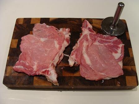 battere la carne