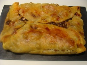 Quiche carciofi camembert