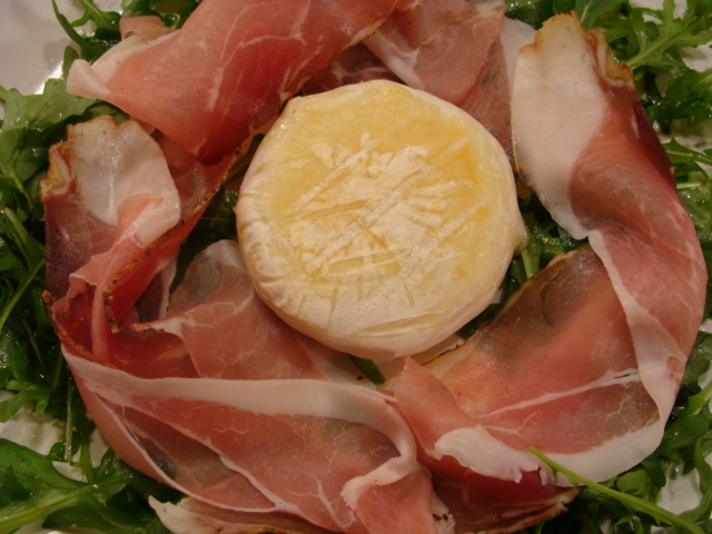 Tomino Speck Rucola