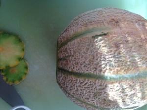 Tagliare il melone