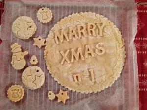 biscotti fatti con la pasta di sale